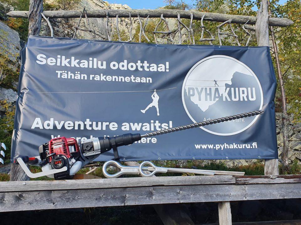Pyhäkuru Adventurepark seikkailu odottaa!